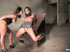 Keeani Lei and Sandra Romain in Wiredpussy Video