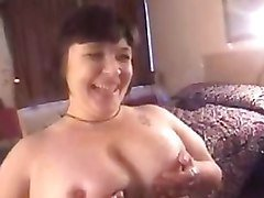 Big Tit Chick sucks dick and gets tit fucked.