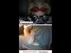 omegle chat roulette beauty fingers pussy