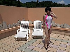 crossdresser in swimsuit 2