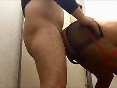 mature crossdresser kinky mariko fucked by young guy