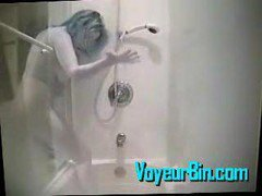 Hot Milf Shaving And Washing In The Shower