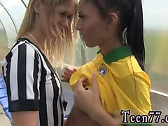 blacked two teens vs bbc brazilian player pounding the referee