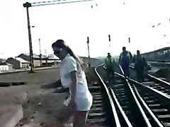 She Amp 039 S Working The Train Tracks By Snahbrandy