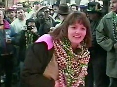 Mardi Gras Woman Hopes She Doesn Amp 039 T Know Any Of You Guys