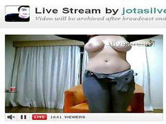 Blonde Strips Down On Webcam To Get Ready For Some Hot Fucking