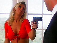 Blond Hooker Gets What She Needs