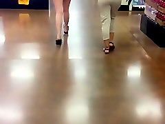Slow mo see through pants thongs