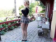 Alina West in Alina Gets Fucked and Facialize