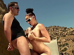 Gianna Michaels & Alec Knight in Alec Knight Tit Fucks Gianna Michaels Big Tits - BigTitsLikeBigDicks