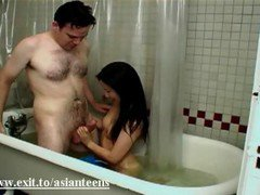 In Bath With Cute Asian Teen Myana