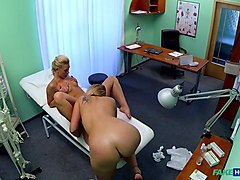 Ani in Sexy housewife cheats on hubby with her doctor - FakeHospital