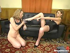 Cloe Hart and Audrey Leigh in Whippedass Video