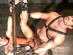 New dom Jaxton Wheeler brutally throat fucks new sub Jett Jax